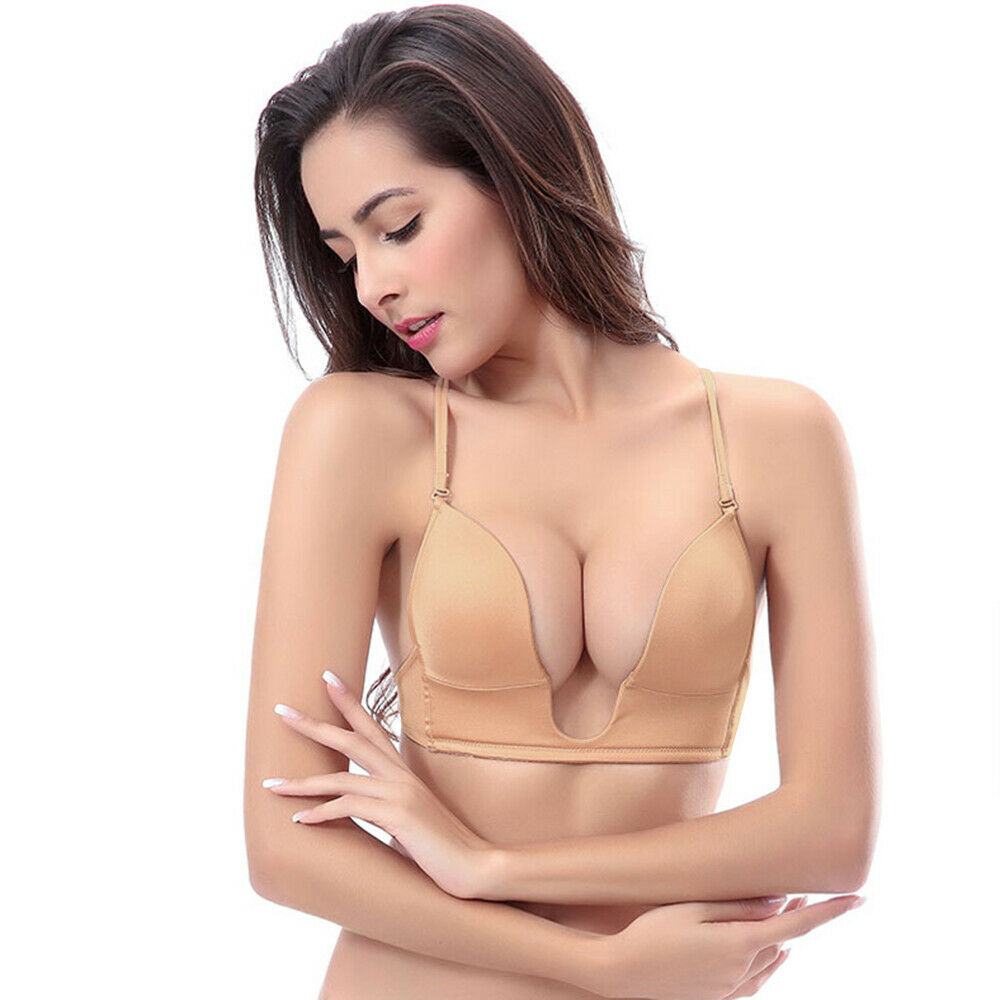 Push Up Bra With Convertible Straps