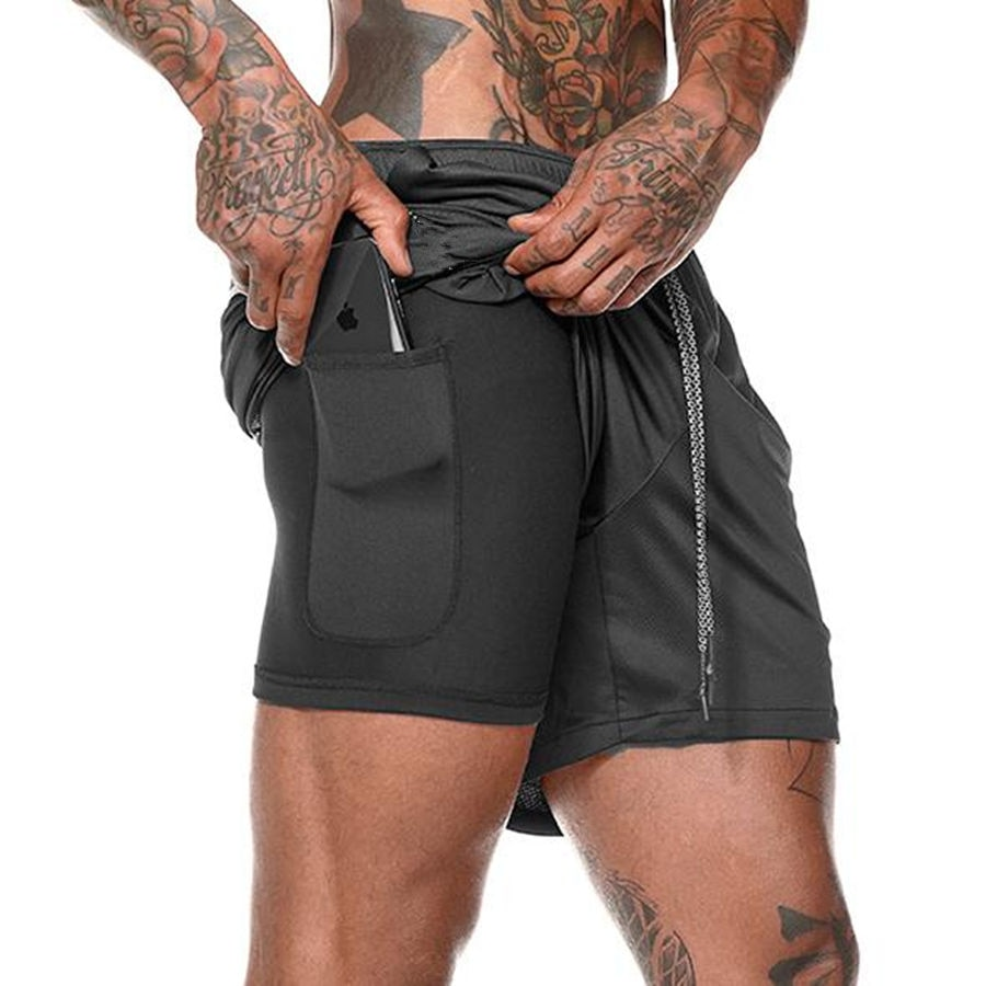 2 in 1 Jogging Shorts