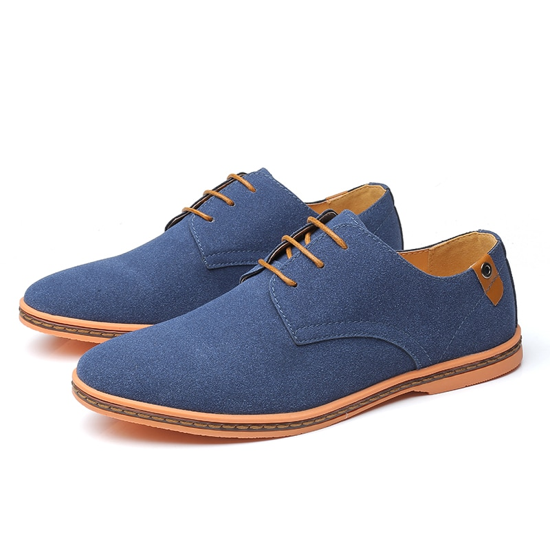 Suede Oxford Sneakers